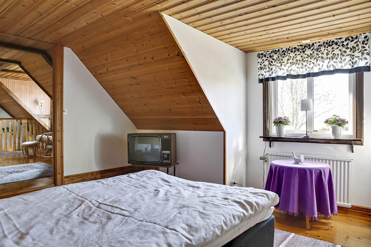 Sovrum på ovanvåningen