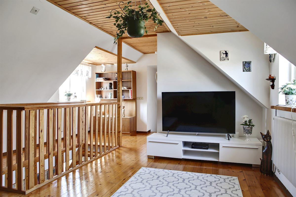 Sällskapsrum på ovanvåningen