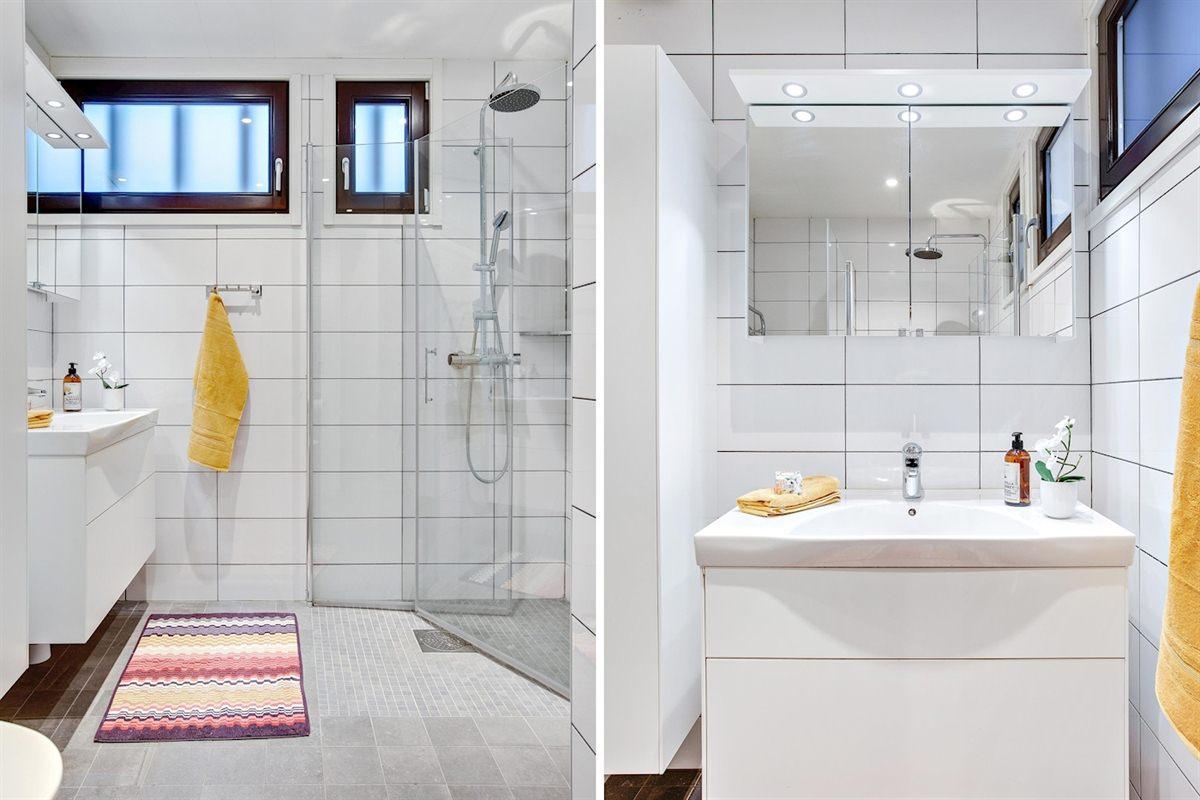 Smakfullt renoverat badrum från 2015.