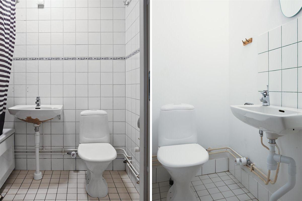 Badrum och gäst.wc.