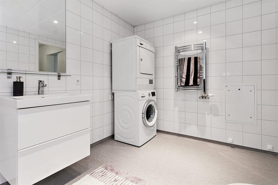 ... och tvättpelare som underlättar vardagens bestyr