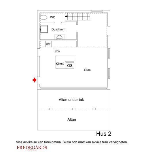 Planlösning hus 2